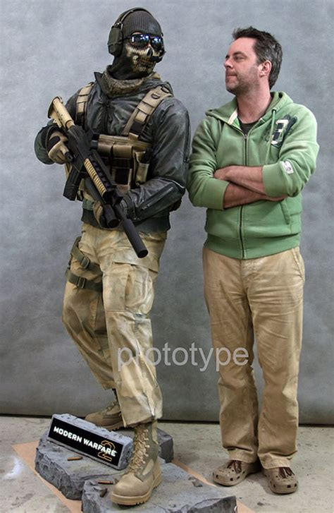 Pamuqa Call Of Duty Modern Warfare 2 Ghost Comic