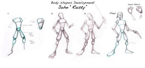 rubens blogpage unit  character design body shapes