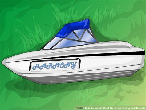 Boat Name Lettering by How To Install Boat Name Lettering And Decals 11 Steps