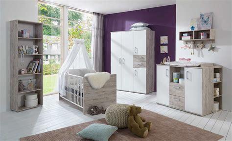 Babyzimmer Kinderzimmer komplett Eiche Sand Sandeiche weiß