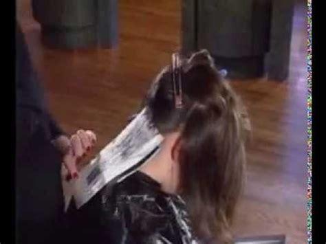 hair foiling techniques  highlight hair lowlight hair  color hair youtube