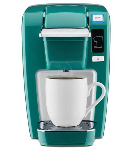 Coffee from the chulux single serve coffee maker comes out strong and flavorful, making it a great for your morning cup. Keurig K15 Single Serve Compact K-Cup Pod Coffee Maker ...
