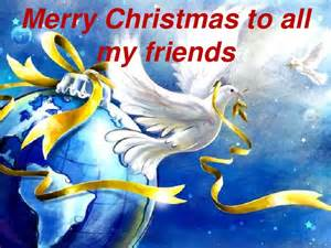 merry to all my friends