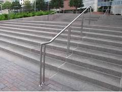 Outdoor Metal Handrails For Stairs by Create Unique Metal Handrailings With Pinnacle Pinnacle Metal Products