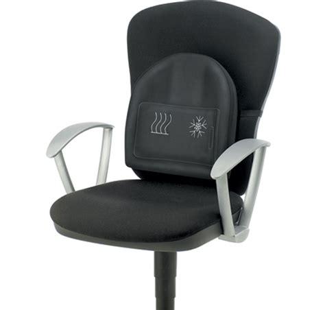 fauteuil de bureau ergonomique soutien lombaire chauf froid trani