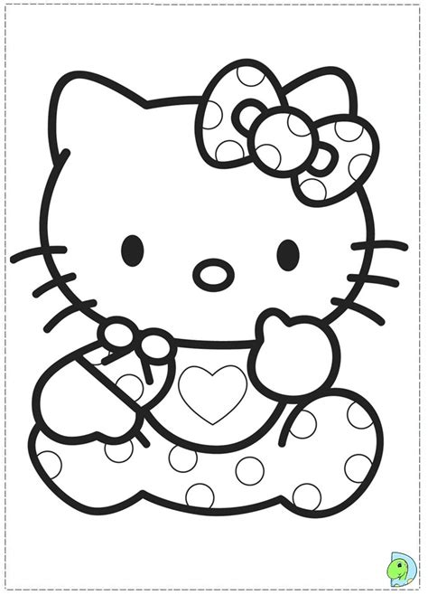 printable  kitty coloring pages  kids baby
