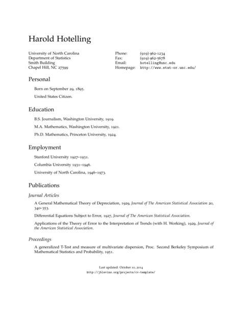 Resume Format Us Style by Cv Us Template Sharelatex Editor