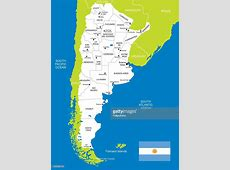 Map Of Argentina Vector Art Getty Images