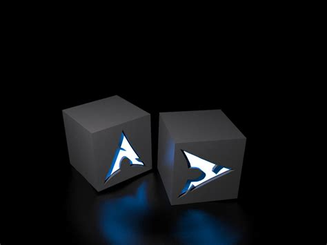 Looking for the best arch linux wallpaper? Archlinux - cubes Computer Wallpapers, Desktop Backgrounds 1365x1024 Id: 83461