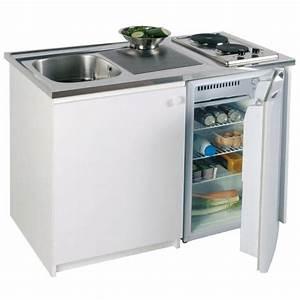 Meuble Plaque De Cuisson : kitchenette 120 x 60 cm achat vente cuisinette ~ Premium-room.com Idées de Décoration