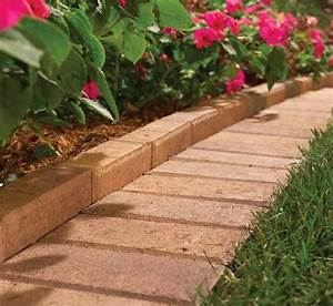15, Spectacular, Yard, Landscaping, Ideas, And, Flower, Beds, With, Paver, Borders