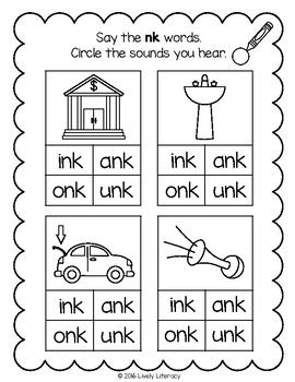 lively literacy letter sound of the week phonics worksheets nk
