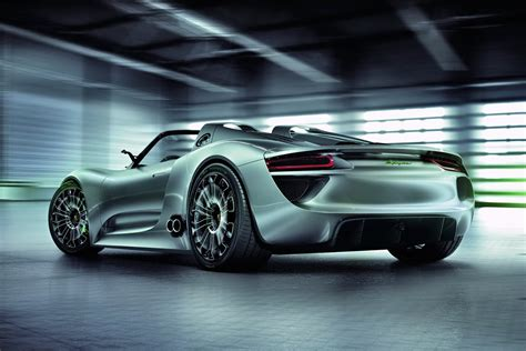 porsche electric 918 porsche offers the 918 spyder hybrid cars on sale for