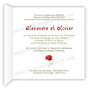 mon faire part mariage carte remerciement mariage design bild