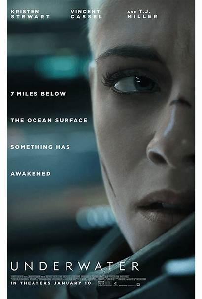 Underwater Poster Fox Trailer Film Debuts