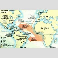 Middle Passage Maps 1400s  Mapping The Middle Passage  Middle Passage, African American