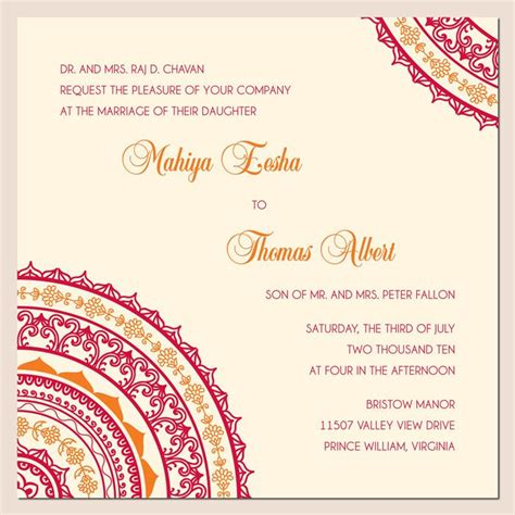 Maybe Some Indian Flare On The Rehearsal Dinner Invites