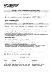 electrical design engineer resume models mbn cv senior electrical engineer