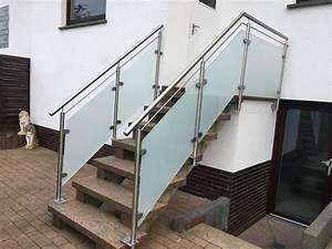 Treppengeländer Mit Glas : montagebau marc zettl glas matte folie ~ Markanthonyermac.com Haus und Dekorationen