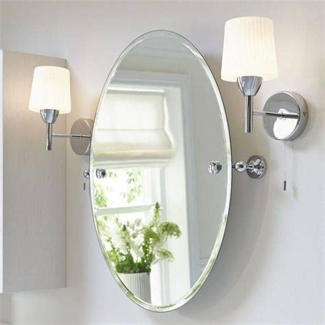 White Framed Oval Bathroom Mirror by 20 Best Of White Oval Bathroom Mirrors