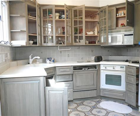 distressed gray kitchen cabinets painted distressed kitchen cabinets interior design