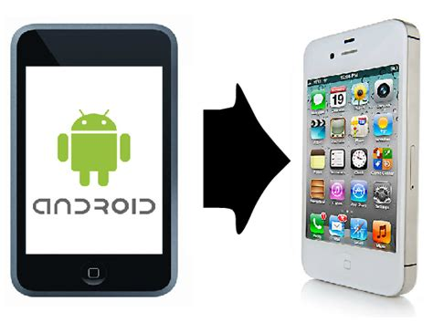 transfer from iphone to android ways to transfer data from android to iphone bbiphones