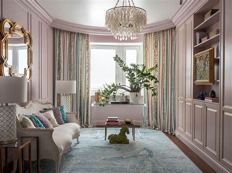 color surprise beautiful pink living room ideas