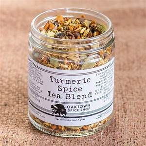 Turmeric Spice Tea Blend in 1 Cup Bag or Jar from $15.25 ...