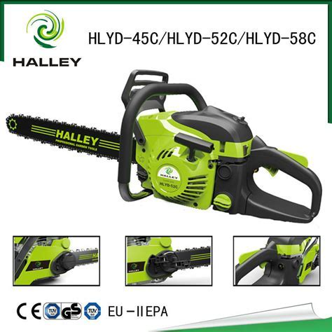 2015 New Chain Saw Machine Price Petrol Wood Saw Cutting