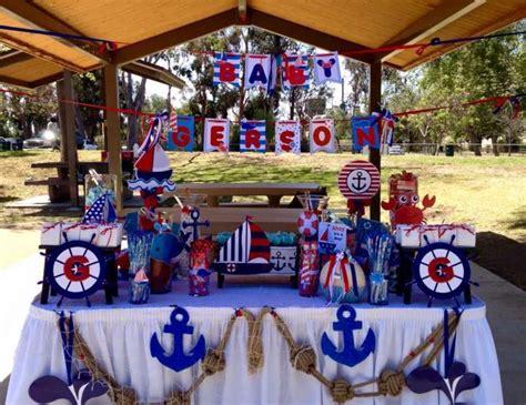 """Nautical Baby Shower Decorations For Home: Nautical / Baby Shower """"Nautical Baby Shower """""""