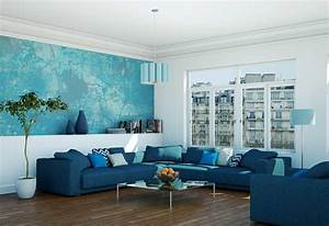 Wohnzimmer Farbe Gestaltung : gestaltung wohnzimmer die stilvolle und moderne ~ Markanthonyermac.com Haus und Dekorationen