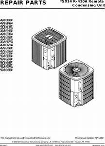 Goodman Mfg Sx14 R 410a Users Manual