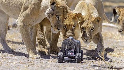een op afstand bestuurbare camera waarmee gevaarlijke