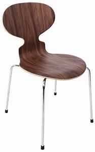 Arne Jacobsen Ant Chair : replica arne jacobsen ant chair walnut 59 ~ Markanthonyermac.com Haus und Dekorationen