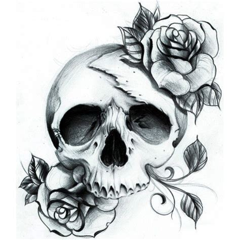 Skull Rose Tattoo That Would Love Have Sleeve