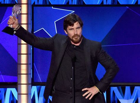 christian bale wins  actor   comedy