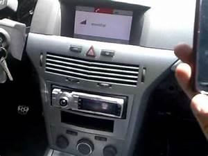 Radio Opel Astra H : bluetoot original astra h sin radio de serie youtube ~ Jslefanu.com Haus und Dekorationen