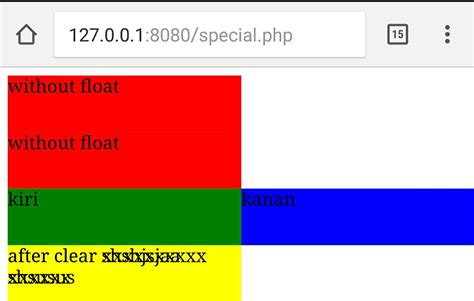 css clear div html css responsive after clear both div pill up