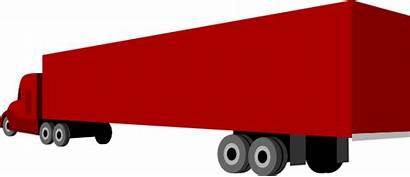 Semi Truck Trailer Clip Clipart Trailers Tractor