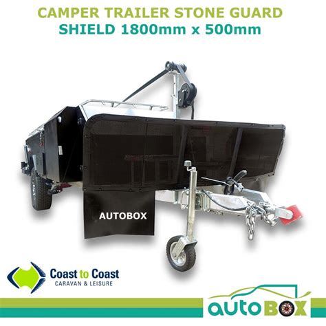 camper trailer stone guard shield protection mm wide
