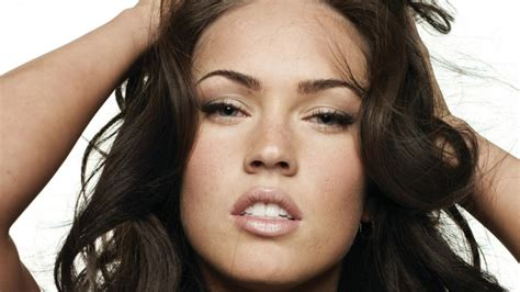 Megan Fox, Tousled Hair With Hands On Head Close Up
