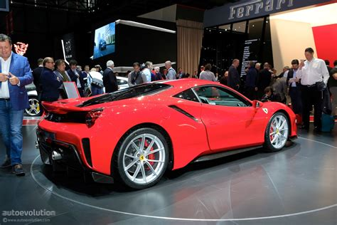 New Ferrari 488 Pista Is Out For Mclaren 720s Blood In