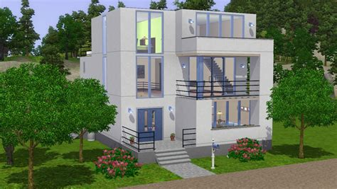 Sims 4 House Design Ideas : Sims 4 Modern House Ideas