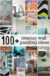 100, Interior, Wall, Painting, Ideas, At, Remodelaholic, Com