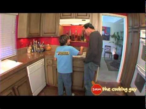 sam  cooking guy cooking  kids video san diego