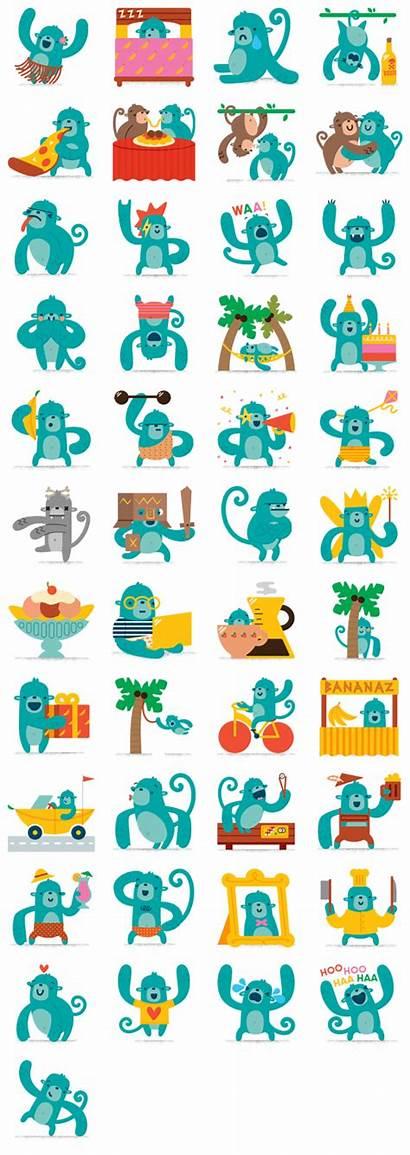 Banana Stickers Sticker Messenger Alle Smileys Chat