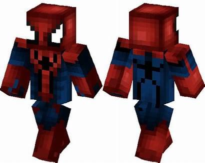 Skin Spiderman Spider Minecraft Skins 3d Amzing