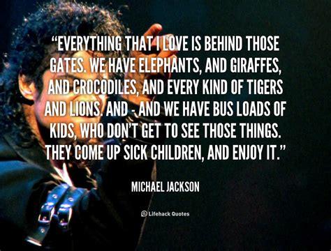 Michael Quotes Michael Jackson Quotes About Quotesgram