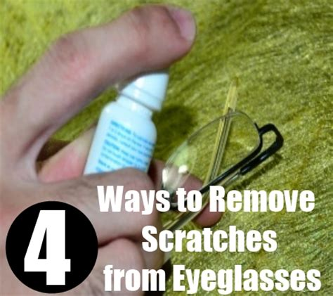 How To Remove Scratch From Your Glass And Plastic Eyewear