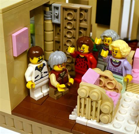 golden girls lego set youve  dreamed